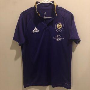 Adidas Climalite Orlando city soccer polo shirt